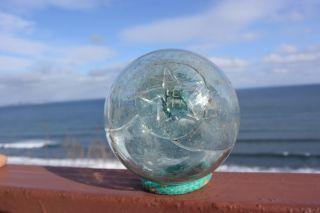 Japanese Star Fishing Glass Float photo