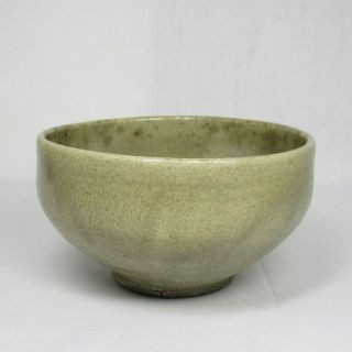 H590: Real Old Korean Rhee - Dynasty White Porcelain Ware Bowl With Good Taste. photo