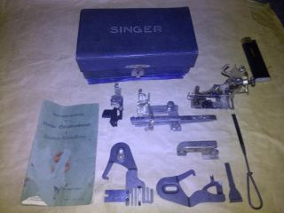 1897 - 1902 Antique Vintage Singer Sewing Machine Spare Parts Fr.  Germany photo