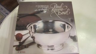 Gorham Silverplate Footed Paul Revere 8