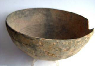Circa.  400 B.  C Large Ancient Greece Athens - Attica Region Decorated Clay Bowl photo