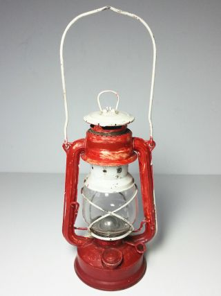 Vintage Feuer Hand 275 Baby,  Western Germany,  Hurricane Oil Lamp photo
