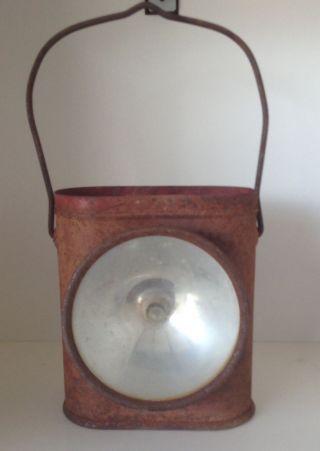 Vintage Delta Electric Lantern / Steampunk / Decoration photo