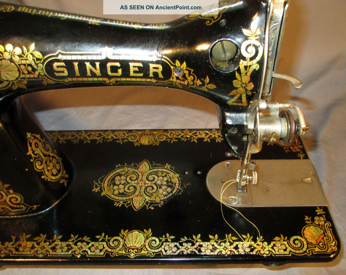 Garrett morgan sewing machine pictures Cached