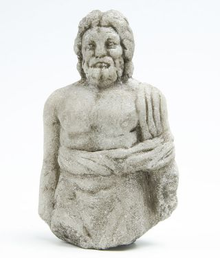Roman Marble Figure Of Asclepius photo