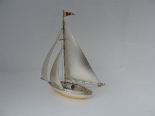 Masterly Hand Crafted Solid Sterling Silver 970 Ship Not Scrap 74 Grams 2.  6 Oz photo