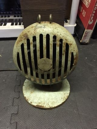 Vintage 1940 ' S Victor Electric Heater Fan Steampunk Decor photo