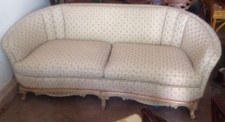 Italian / French Provincial Sofa / Settee photo