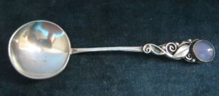 Vintage Solid Silver Spoon - Edinburgh - Norah Creswick 1965 photo