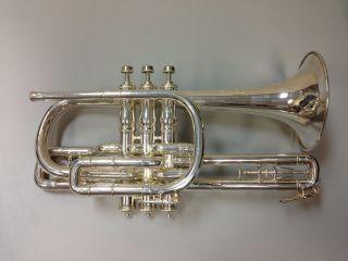 Z.  Albert Meredith Open Tone Compensating Cornet C.  1913 photo