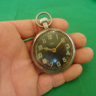 Vintage Sirex Swiss Made Pocket Watch Spares / Repair (wwi Wwii Militaria??) photo