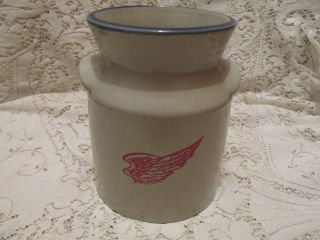 Red Wing Advertising Crock Utensil Holder - Onchuck Seed 2011 photo
