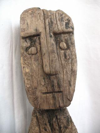 Timor Tribal Commemorative / Protective Statuette Mid 20th C. photo