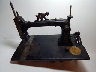 Antique Elias Howe Jr Sewing Machine photo