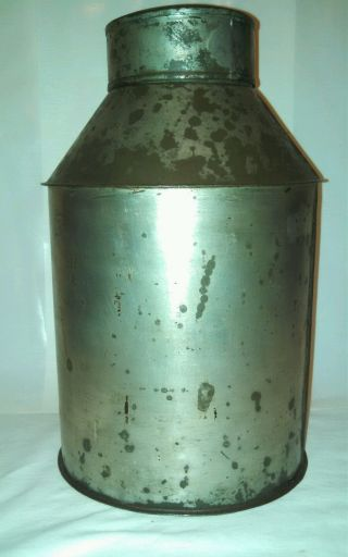 Antique Primitive Tea Caddy General Store,  Stage Coach/ Train Shipping? Soldier? photo