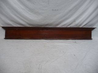 Antique Craftsman Style Door Pediment - C.  1910 Fir Architectural Salvage photo