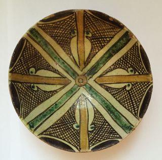 A - Samanid - Pottery - Bowl - Samarkand - Central - Asia - Or - Nishapur. photo