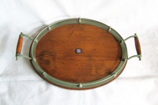 Vintage Rms Edinburgh Castle Oval Crested Gallerytray photo