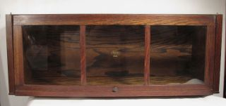 Antique Macey 34 - 11 Quartered Oak Mission Barrister Bookcase Section photo