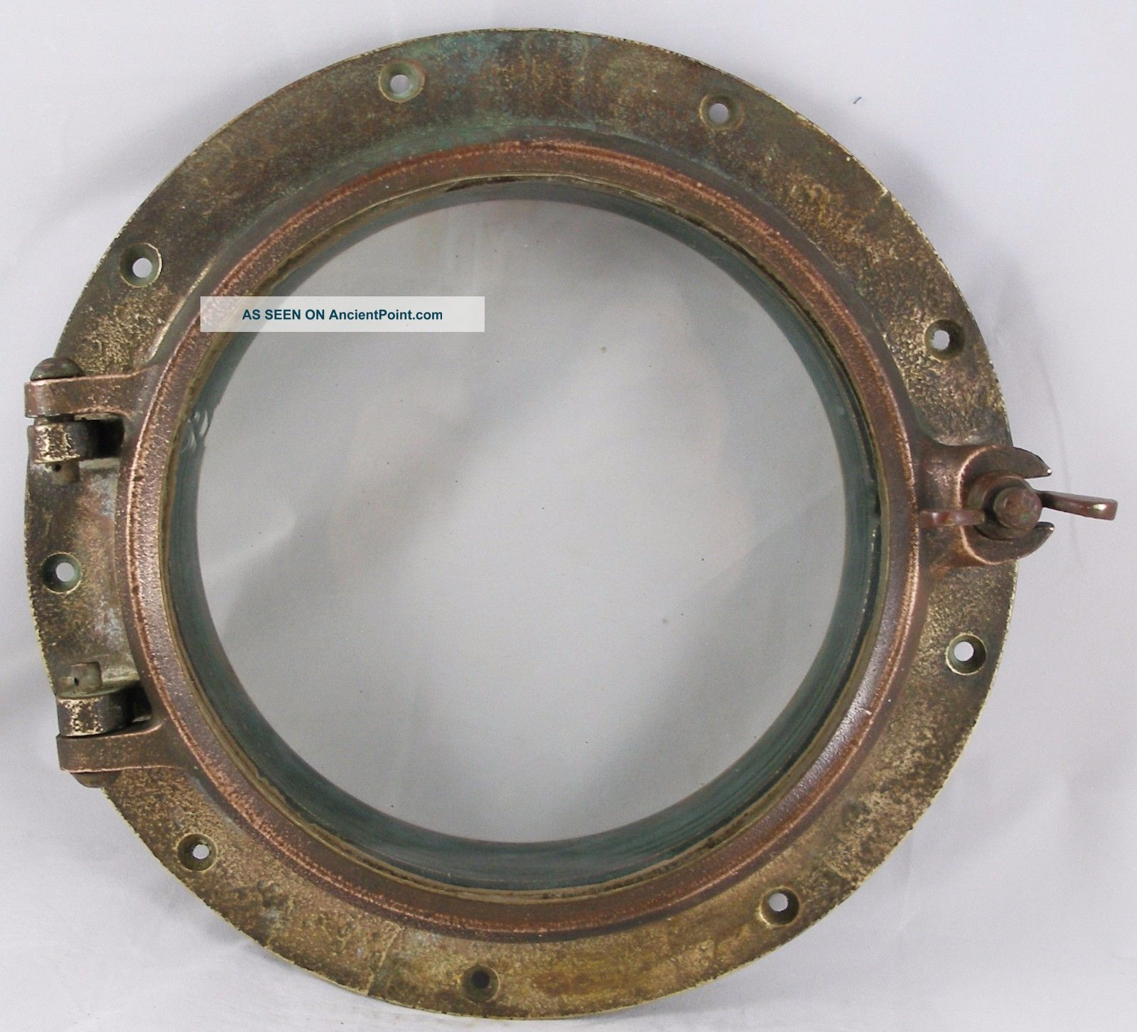 Antique Bronze Porthole,  12