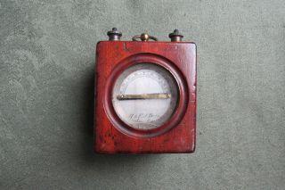 Portable Telegraph Galvanometer - H & E J Dale - Scientific / Photographic photo
