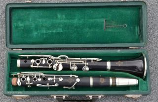 Antique Buffet Crampon Paris Albert System Clarinet In A (la) - Complete Restored photo