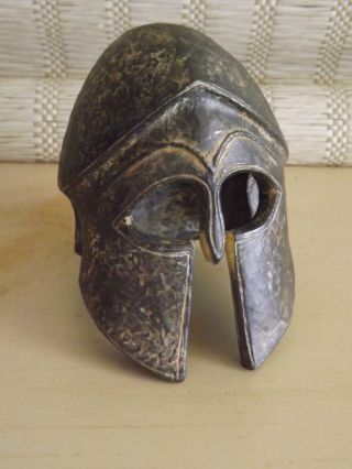 Ancient Greek Corinthian Helmet Armor - Small Replica Reproduction photo