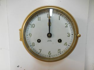 German Schatz Fulton By Low Company Ships Clock In Excelent. photo