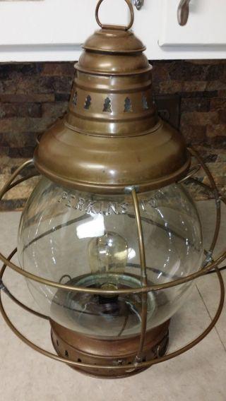 Rare Large Antique 1920 ' S Perkins 10