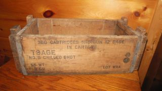 Vintage 12 Gauge No.  8 Chilled Shot Box photo