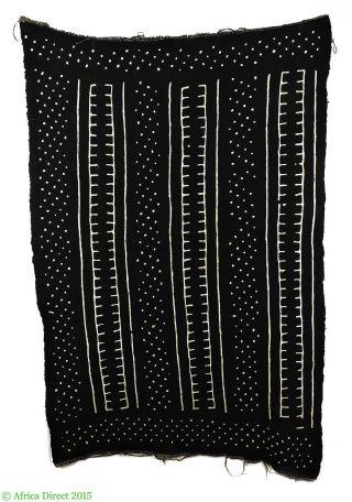 Mudcloth Textile Handwoven Bogolanfini Mali Africa photo