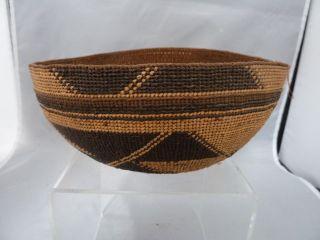 Native American Basket Bowl / Hat Cap photo