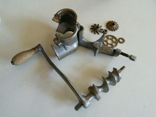 Vintage Universal 71 Meat Grinder Table Mount Easy photo