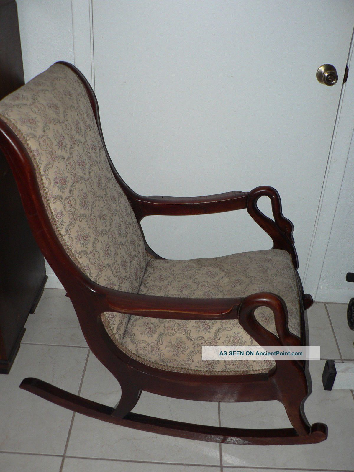 Antique Rocking Chairs Without Arms Fancy Victorian
