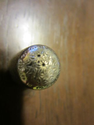 Silver Dreema Thimble,  C1900s photo