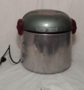 Vintage Electric Handy Hot Tabletop Washer Washing Machine Handyhot Blue photo
