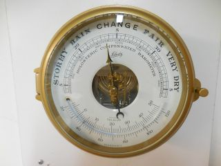 Vintage Schatz German Mariner Ships Clock Barometer photo