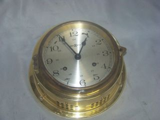 Howard Miller Ship ' S Bell Clock Vintage Howard Miller Ship ' S Bell Clock photo