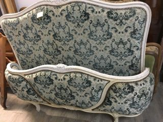Antique French Double Bed photo