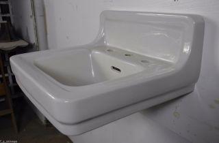 Antique Vintage American Standard Bathroom Sink ' Lucerne ' Wall Hung Sink 1950 ' S photo