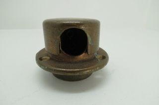 1,  1/2 Wilcox Crittenden Deck Pipe Brass Bronze Anchor Chain Rope Tie Off (592) photo