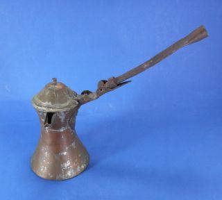 Antique Islamic / Ottoman - Decorated Ewer - Coffee / Tea Pot 19th Century photo