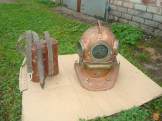 Rare Russian Helium Diving Helmet Made In Ussr\1960 Gks - 3m photo