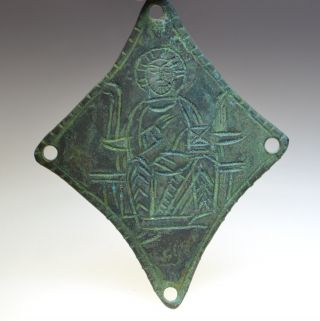 Byzantine Bronze Christian Icon Attachment photo