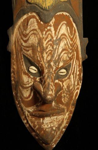 Guinea Middle Sepik River Mask 1950s photo