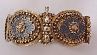 Rare Antique Ottoman Silver Bracelet,  Museum Quality photo