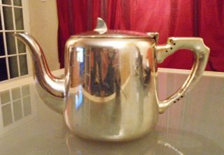 Vintage Silver Plated Teapot Marked Warriss Sheffied photo