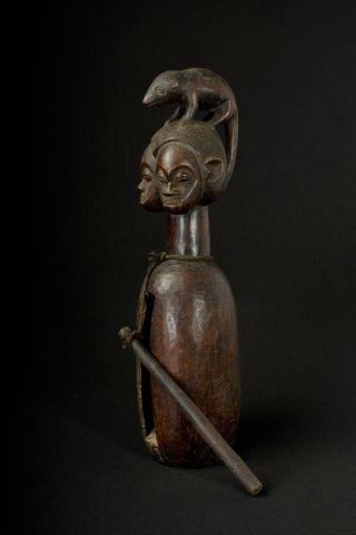 Tambour Yaka Slit Drum Congo (drc/rdc) photo