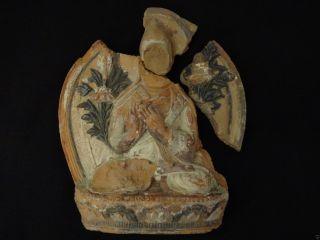 Antique Mongolian Buddhist Large Tsa Tsa photo