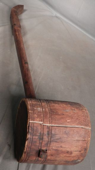 Antique Early Oriental 2 String Fiddle Violin Dan Nhi China Viet Nam Old photo